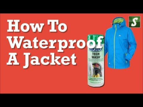 How to Waterproof a Jacket - Nikwax Waterproofing Products