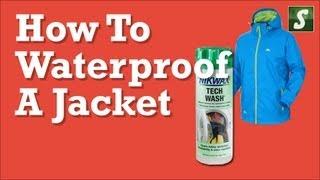 How to Waterproof a Jacket - Nikwax Waterproofing Products