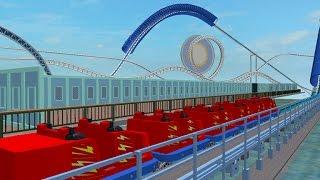 ROBLOX: New Paradise Pier en DCA tour completo + Mickey's Fun Wheel POV + Disney's Paradise Pier Hotel