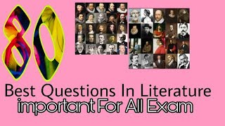 80+ Fathers And Founders in English Literature