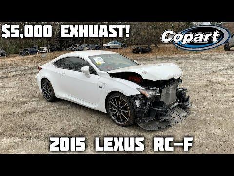 Rebuilding a Wrecked 2015 Lexus RC-F