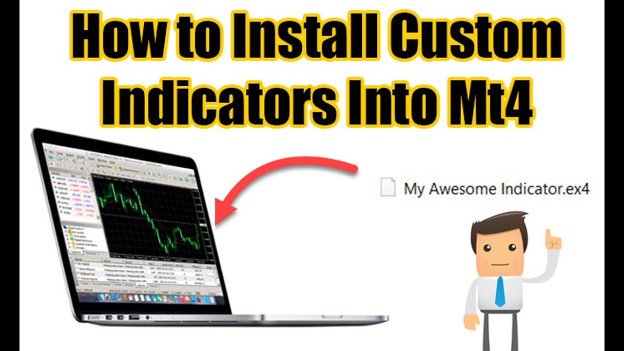 How To Install Custom Indicators Into Mt4 Beginners Guide Youtube