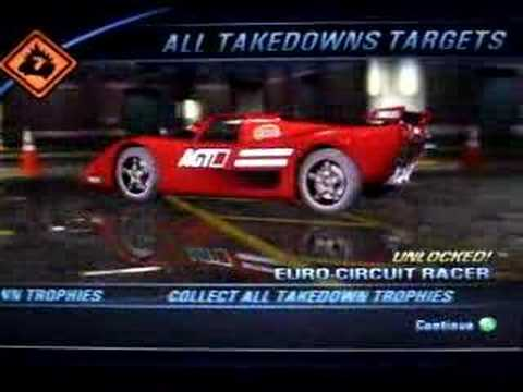 Burnout  Takedown All Cars Unlocked
