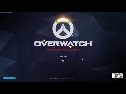 how to fix overwatch and make it connect to servers