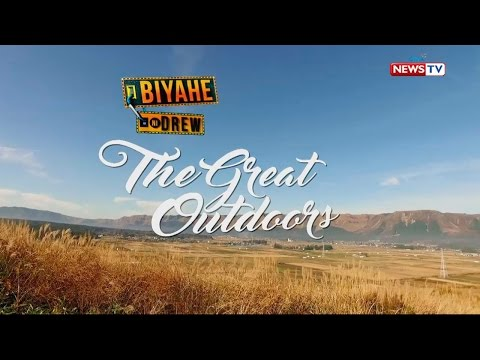 Biyahe ni Drew: The Great Outdoor Adventures of 2016 (Full episode)