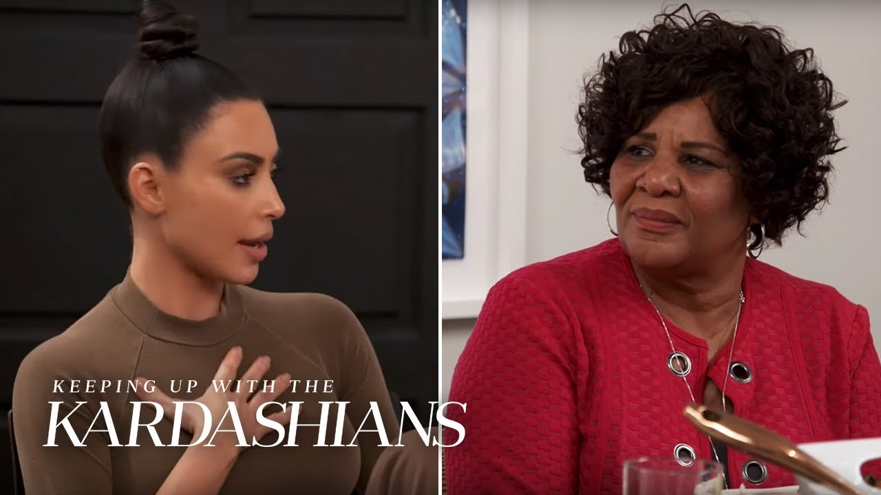 Kim Kardashian Tells How She Pleaded Alice's Case to President Trump | KUWTK | E!