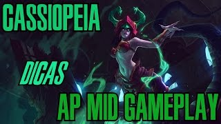 League of Legends - Cassiopeia Mid - WHEPA Caitar é o Poder [PT-BR]