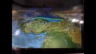 Georgia グルジア旅行 空路 飛行機  空港