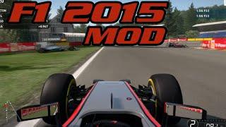F1 2014 PC Mod Showcase:- F1 2015 Season Data Pack