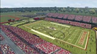 NCAA Football 10 - UL Monroe Pre-game; Sound of Today Marching Band
