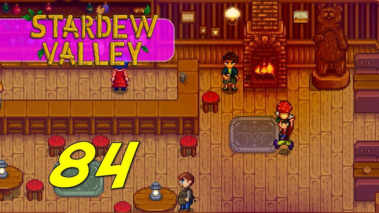 Stardew Valley - Let's Play Ep 84 - RED MUSHROOM QUEST