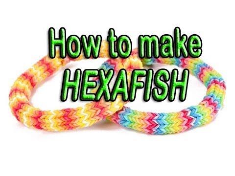 New Design Hexafish Bracelet Rainbow Loom Wonder Loom Crazy