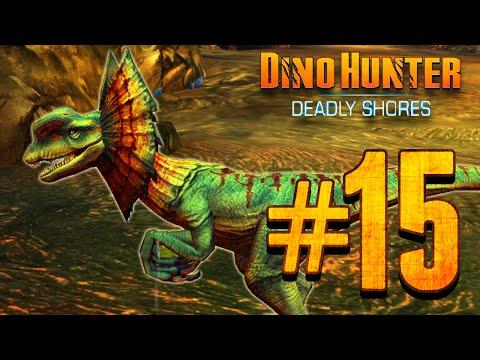 Dino Hunter: Deadly Shores EP: 15 DILOPHOSAURUS!!