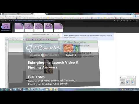 Connected Math Project 3: Launch Video and Search Feature