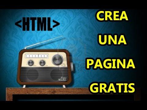 Como crear una pagina web facil para tu radio online en vivo 2016