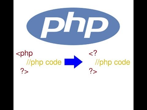 How To Configure Php Short_open_tags With WAMP Server