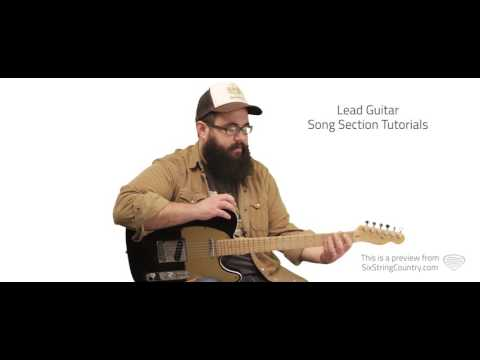 Sleep Without You Guitar Lesson - Brett Young