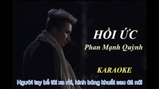 [Karaoke] Hồi ức - Phan Mạnh Quỳnh_Sing my song tập 7