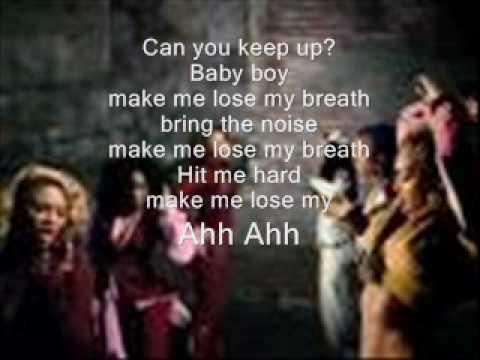 destiny child-lose my breath with lyrics