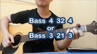 [GUITAR] Hướng dẫn guitar ĐIỀU ANH BIẾT - Chi Dân ( Hợp Âm, Cách Đánh, Intro)