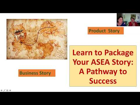 Learn to Package Your ASEA Story