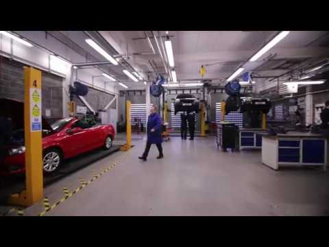 Take A Look Inside The Automotive Workshop At Anniesland