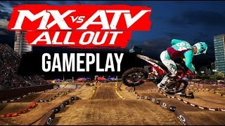 MX vs ATV all out - GAMEPLAY FR