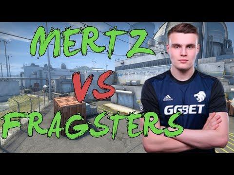 CSGO: POV North mertz vs Fragsters (31/17) nuke @ Bets.net Masters