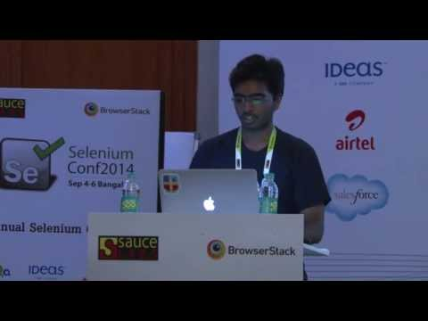 Clojure for functional testing of Mobile and Web apps by Mayur @ Selenium Conf 2014