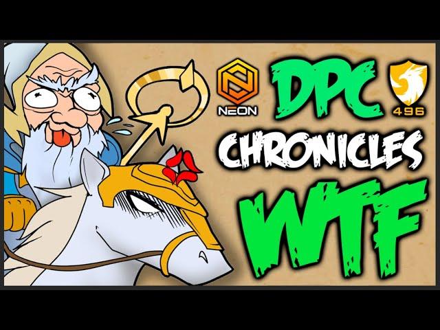 Dota WTF DPC Chronicles - LVL 2 BEFORE game STARTS!