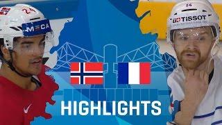 Norway - France | Highlights | #IIHFWorlds 2017