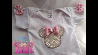 Body customizado da Minnie! Um luxo!