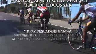 Team Captains iti Tour of Ilocos Sur