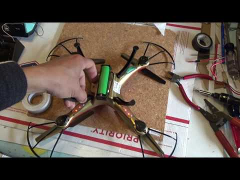 Drone battery hack: Can a power tool 18650 battery fly a drone?