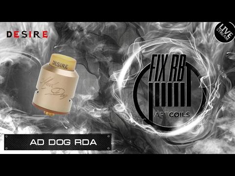 Доброе утро №90 /кофе и Mad Dog RDA By Desire | LIVE 01.02.17| 11:20 MCK