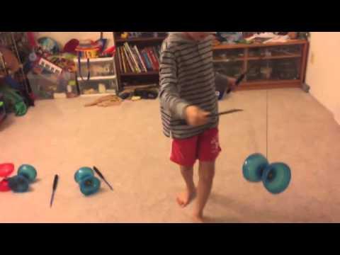 Chinese yo yo beginner trick #9 Bridge