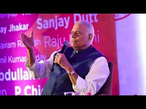 Yashwant Sinha on what's gone wrong in Kashmir, mob lynching & Modi govt's self praise