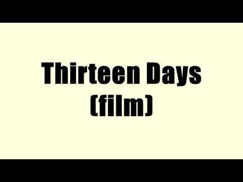 Thirteen Days (film)