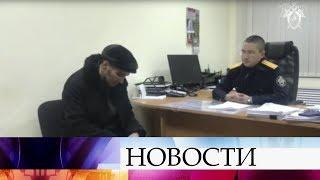 Новые детали драмы на рейсе Москва-Сургут: эксклюзивные кадры допроса горе-угонщика.