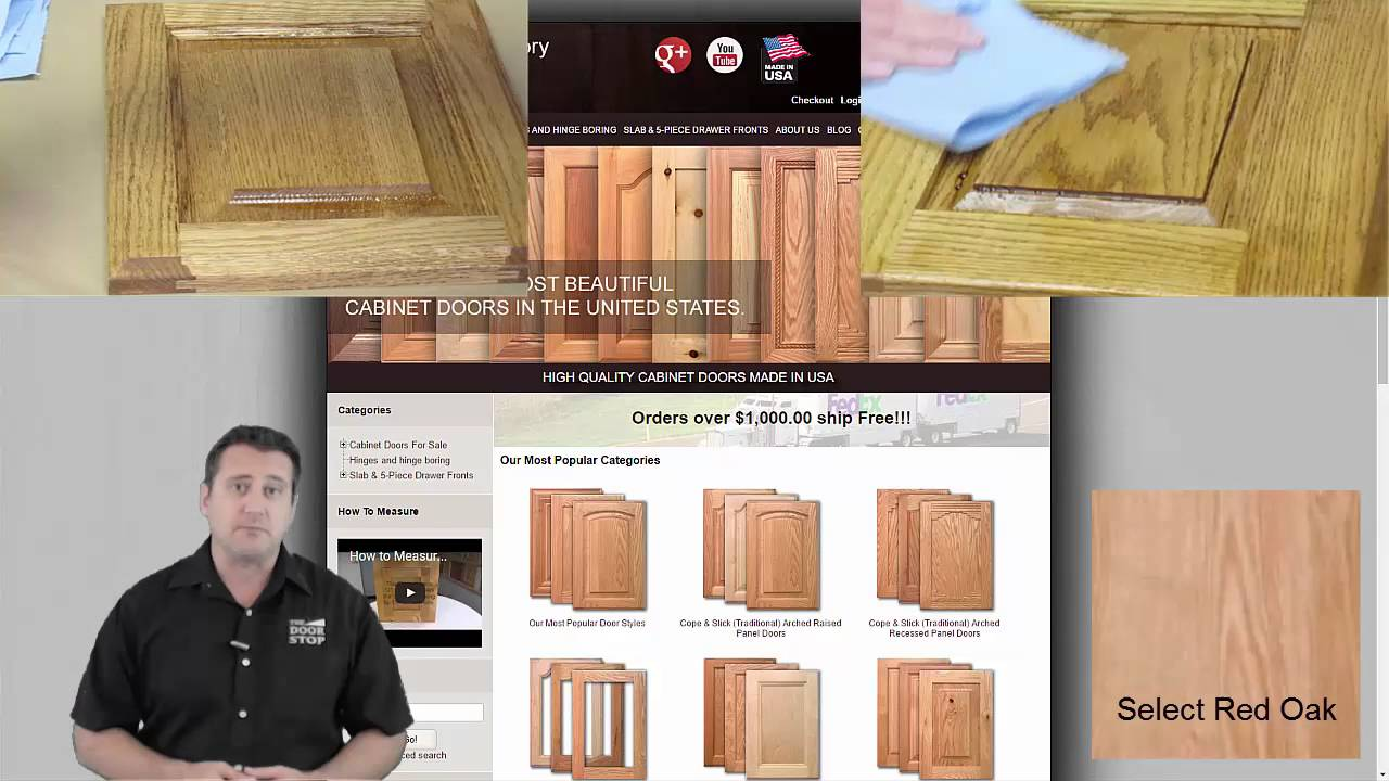 Custom Cabinet Doors And Drawer Fronts Made To Your Exact Sizes
