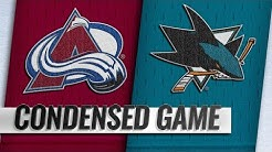 04/06/19 Condensed Game: Avalanche @ Sharks