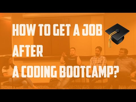 how to get a job after a coding bootcamp?