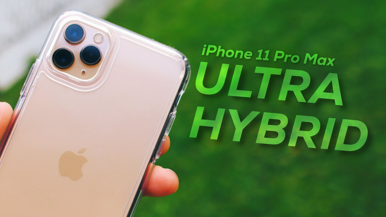 iPhone 11 Pro Max Spigen Ultra Hybrid Case Review! - Crystal Clear
