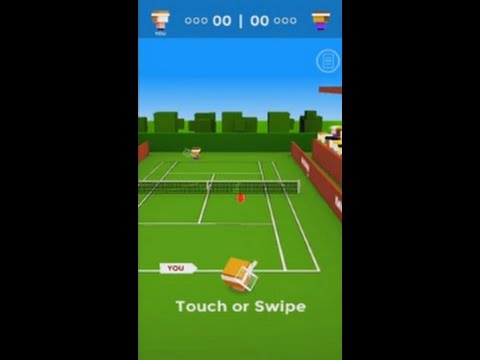 Ketchapp Tennis (by Ketchapp) - sport game for android - gameplay.