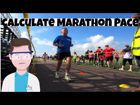 Running Tip 1-Calculate your marathon pace