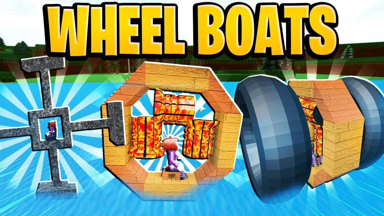 Babft Roblox Codes Buy Robux To Customize Your Character Crazy Wheel Boat Designs In Build A Boat For Treasure In Roblox Youtube