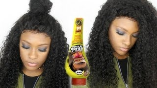 How To | Cut the Lace & Lay your wig w/Gorilla Snot + EASY baby hairs | Comingbuy