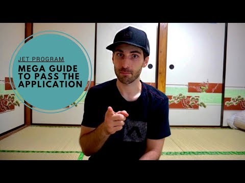 JET Program Mega Guide to Passing the Application