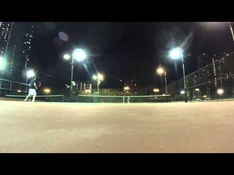 1/15/2015: Allan vs Stephen practice set at Morse Park part 1
