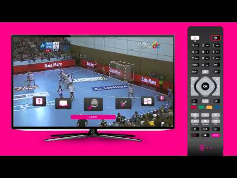 Meniu si ghid electronic de programe TV - Telekom TV Interactiv